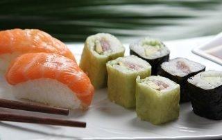 Is sushi goed voor je vetverbranding