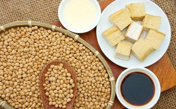 Pas op met soja producten