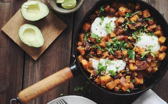 Gezonde voeding als medicijn - Zoete aardappel pannetje